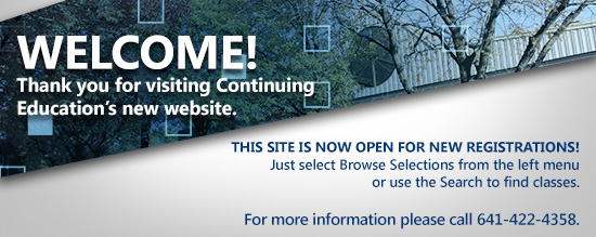 Welcome! Thank you for visiting Continuing Education's new website.